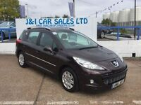 PEUGEOT 207 1.6 HDI SW ACTIVE 5d 92 BHP jandicarsplymouth.co.u (red) 2011