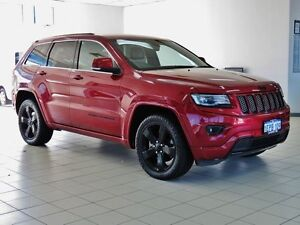 2014 Jeep Grand Cherokee WK MY14 Blackhawk Red 8 Speed Automatic Wagon Morley Bayswater Area Preview