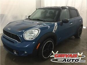 MINI Cooper Countryman S ALL4 AWD Cuir Toit Panoramique MAGS 201