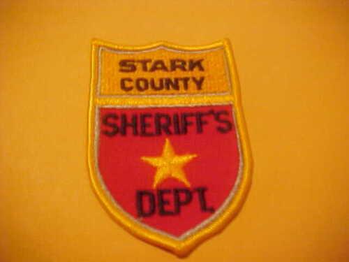 STARK COUNTY  NORTH  DAKOTA POLICE PATCH SHOULDER SIZE NEW TYPE 1