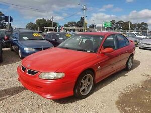 1999 Holden Commodore Vtii Executive Red 4 Speed Automatic Sedan Greenacre Bankstown Area Preview