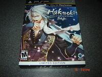 HAKUOKI THE DEMON LIMITED EDITION PSP NEUF SEALED