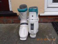 Salomon SX61 Ski Boots, size 8