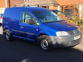 VW Caddy Van Diesel Blue C20 TDI 104 Full Service History Air Con Ply Lining No Previous Owners