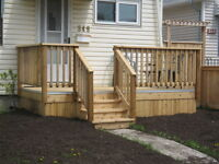 Nanco Con. Decks Front porch New Basement Developing & Finishing