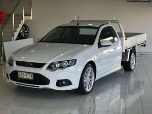 2014 Ford Falcon FG MkII XR6 Ute Super Cab EcoLPi White 6 Speed Sports Automatic Utility