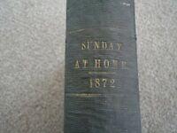 """""""Sunday at Home"""" book from 1872"""