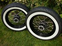 Looking for White wall tyres Dragstar 650
