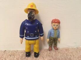 Fireman Sam 2 Figure Pack Sam & Norman