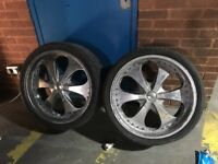 Alloy Wheels with tyres - 4 (Range Rover)
