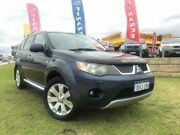 2008 Mitsubishi Outlander ZG MY08 XLS Luxury Blue 6 Speed Constant Variable Wagon Wangara Wanneroo Area Preview