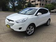 2012 Hyundai ix35 LM MY13 Active (FWD) White 6 Speed Automatic Wagon Homebush West Strathfield Area Preview