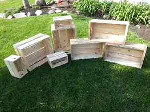 Wooden Crates - handmade solid wood appleboxes