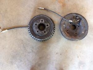 1965 Chevy G Van Front Brake Assembly