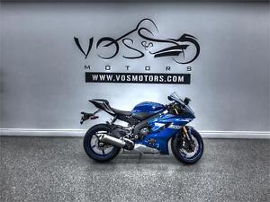 2017 Yamaha YZF-R6 - Stock#V2690NP - No Payments For 1 Year**