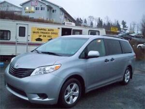 1 YEAR WARRANTY INCLUDED 2011 Toyota Sienna EASY FINANCING