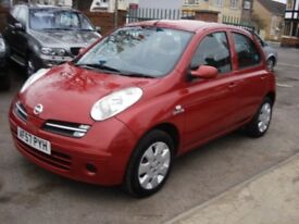 Nissan MICRA 1.5 dCi Spirita 5dr, 2007 model, Long MOT, clean in & out