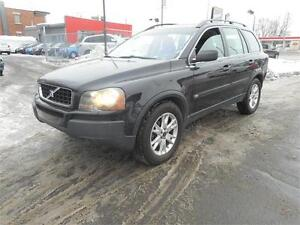 VOLVO XC90 2004 T6 AWD 7 PASSAGER **VISA MASTER CARD**ACCEPTÉ