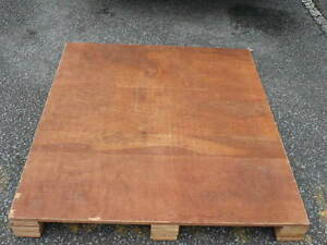 "Plywood top Pallets 44""x 48"" 4way load"