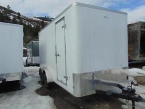 """2018 ROYAL 7X14 Cargo Trailer w. Side Door and Rear Ramp & 86"""""""
