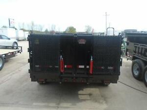 EASIEST COMBO GATE TO OPERATE 6X12 DUMP TRAILER 5 TON London Ontario image 5