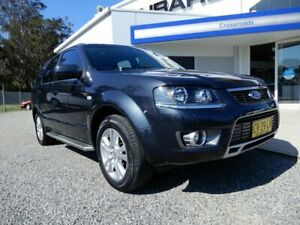 2010 Ford Territory SY MkII TS Grey 4 Speed Sports Automatic Wagon Glendale Lake Macquarie Area Preview