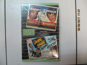 Classic Abbot & Costello/Laurel & Hardy Double Feature VHS 1980s