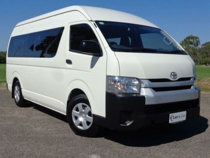 2014 Toyota Hiace TRH223R MY14 Commuter White 4 Speed Automatic 4D Bus