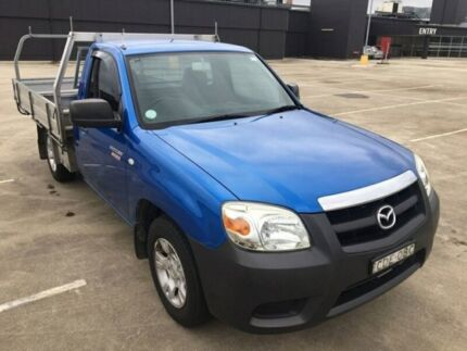 2011 Mazda BT-50 UNY0W4 DX Blue 5 Speed Manual Cab Chassis