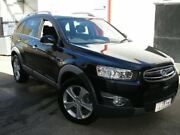 2012 Holden Captiva CG Series II MY12 7 AWD LX Black Mica 6 Speed Sports Automatic Wagon Tottenham Maribyrnong Area Preview