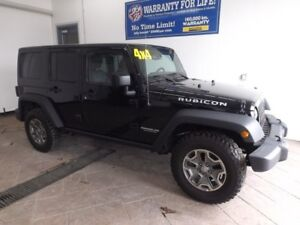 2016 Jeep Wrangler Unlimited Rubicon 4X4 LEATHER NAV