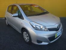 2014 Toyota Yaris NCP130R YR Silver 4 Speed Automatic Hatchback Winnellie Darwin City Preview