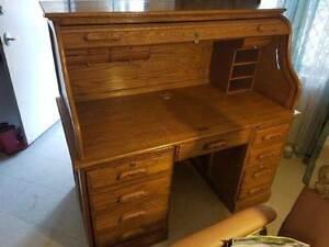 Roll top desk Mount Helena Mundaring Area Preview