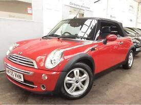 MINI Convertible 1.6 Cooper 2dr + 12 MONTH MOT + POWER ROOF + CHILLI PACK