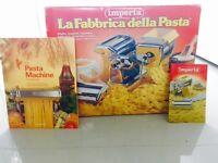 Imperia pasta machine and recipe book
