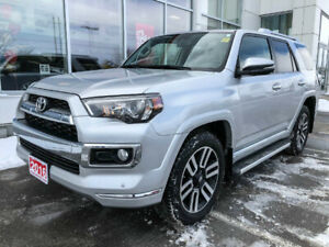 2016 Toyota 4Runner LIMITED+XTRA WARRANTY-100,000 KMS!