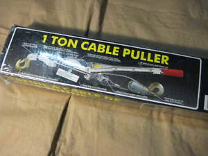 1 ton cable puller. Brand new. Never opened. $19