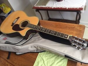 Crafter TMC 035/N  acoustic electric Guitar