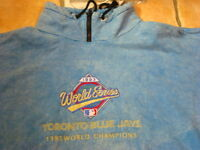 BLUE JAYS '93 CHAMPS SWEATSHIRT--LIKE-NEW--REDUCED TO $45