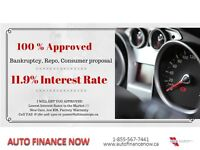 2016 BMW 1Series BANCKRUPTCY OR PROPOSAL 11.9% FIXED RATE