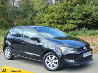 VOLKSWAGEN POLO 1.2 MATCH EDITION TDI 5d 74 BHP (black) 2014
