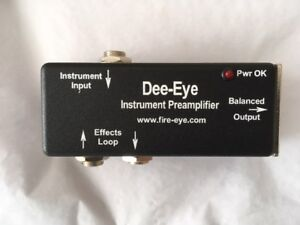 New Red Eye Preamps for Acoustic Instruments