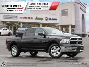 2018 Ram 1500 | SLT | Upgraded 20 Wheels | Bluetooth | Hemi