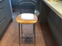 Breakfast bar Chair and Stools.