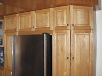 Kitchen refacing, Finishing and restoration