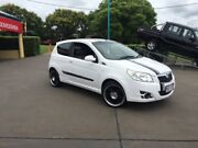 2008 Holden Barina TK MY09 White 5 Speed Manual Hatchback South Toowoomba Toowoomba City Preview