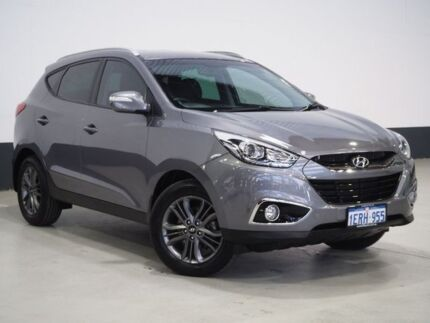 2014 Hyundai ix35 LM Series II SE (FWD) Grey 6 Speed Automatic Wagon Bentley Canning Area Preview