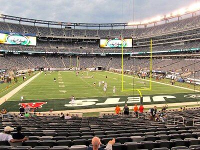 2 Dolphins vs New York Jets Tickets 12/8 9th Row LOWERS Sec 103 MetLIfe Stadium