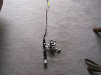 ICE FISHING ROD & REEL NEW NEVER USED