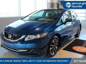 2015 Honda Civic EX, MANUAL, SUNROOF, BACKUP CAMERA
